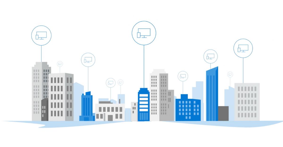 Buildings graphic