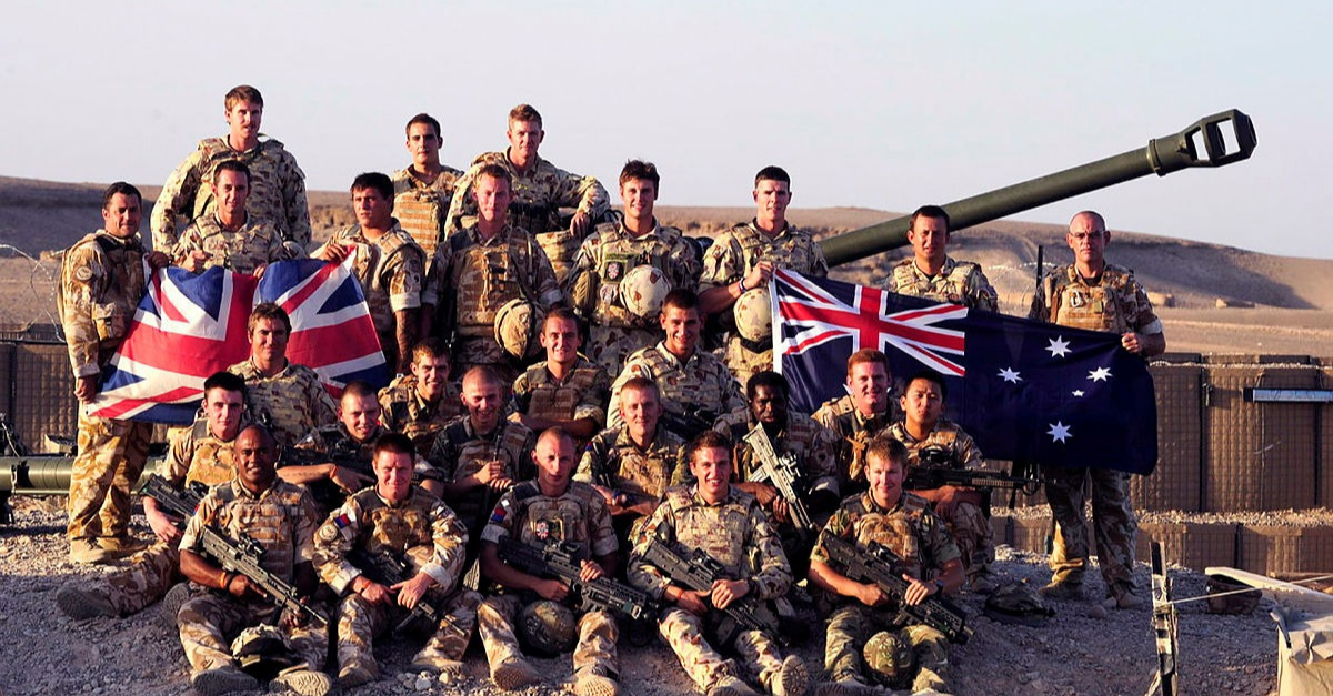 Australian Army group photo