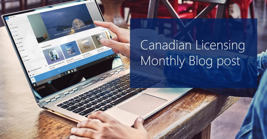 Canadian Microsoft licensing updates for partners