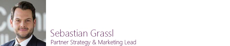 Sebastian Grassl, Partner Strategy & Marketing Lead, Microsoft Deutschand