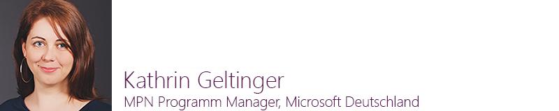 Kathrins Geltinger, MPN Programm Manager
