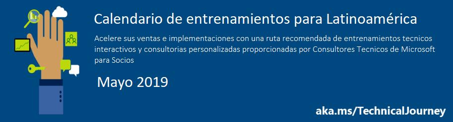 Entrenamientos LATAM Mayo 2019