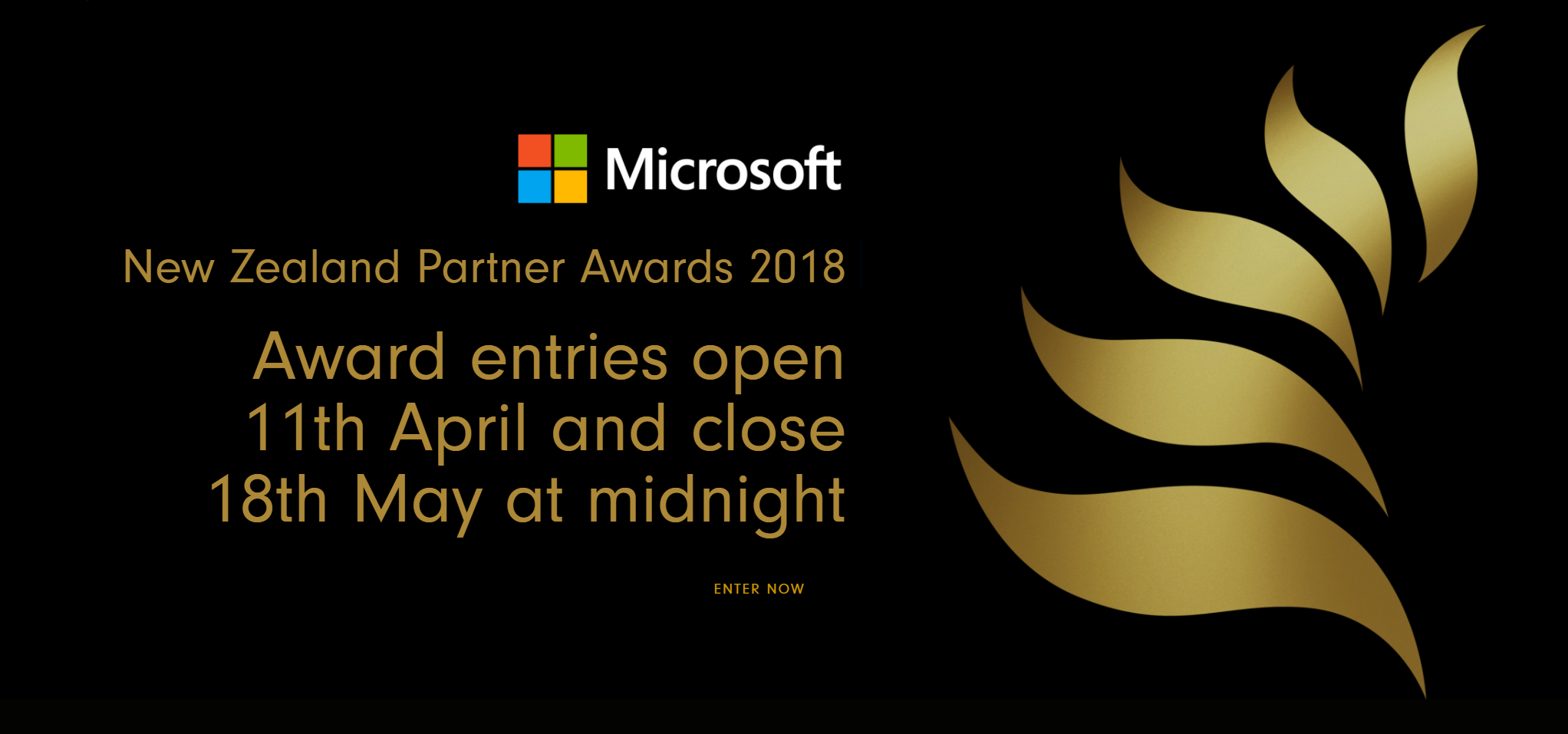 microsoft nz partner awards now open for entries microsoft nz