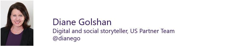 Diane Golshan US Partner Team digital and social storyteller