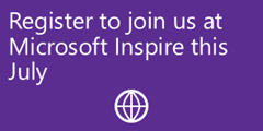 Join us at Microsoft Inspire
