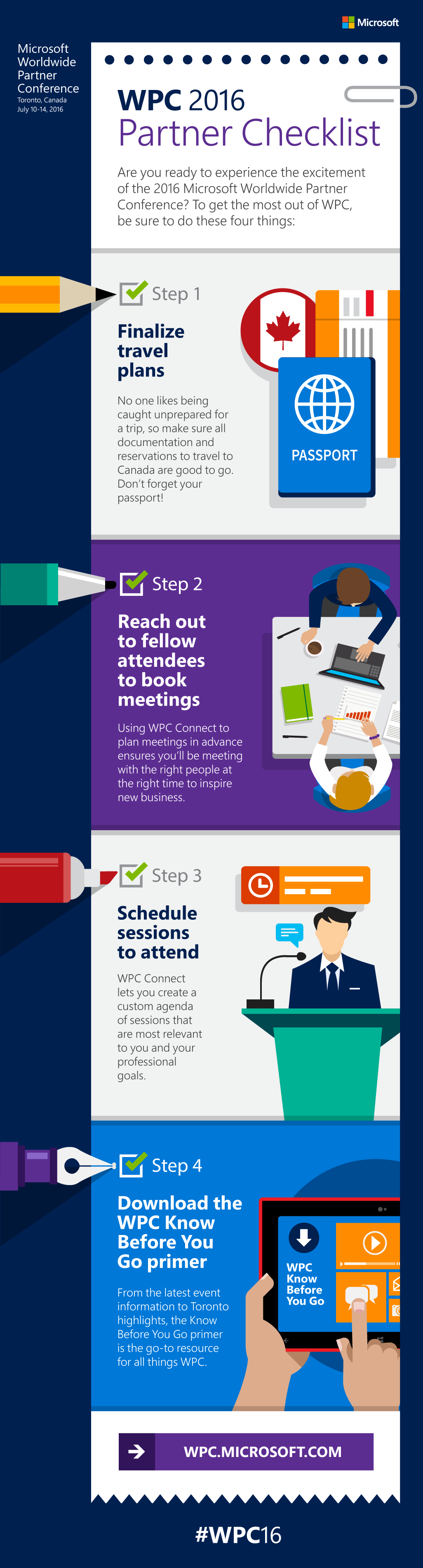 Infographic - What you need to know to get ready for WPC 2016