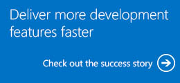 Deliver more development features faster