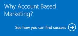 Why Account Based Marketing?