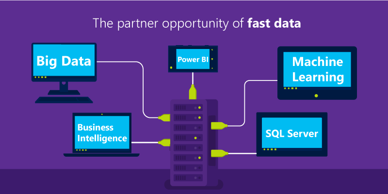 The partner opportunity of fast data