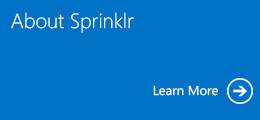 About Sprinklr, Learn More