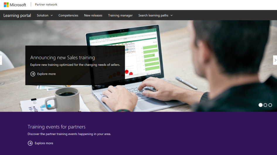 introducing our new learning portal for partners microsoft partner