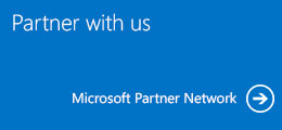 Partner with us, Microsoft Partner Network