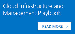 Cloud Infrastructure Management Playbook