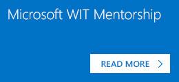 Microsoft WIT Mentorship