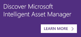 Discover Microsoft Intelligent Asset Manager
