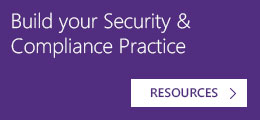 Build your Security & Compliance Practice